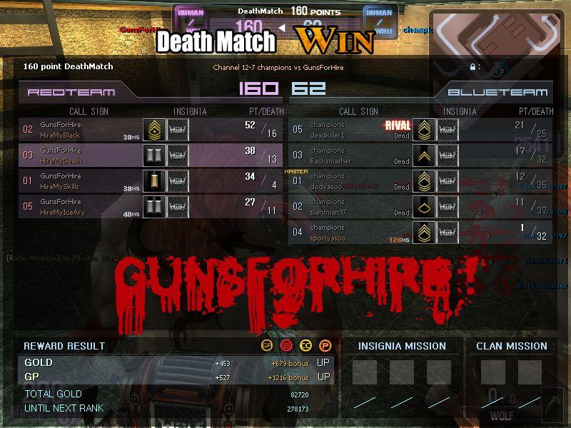 GunsForHire ! Forum Index