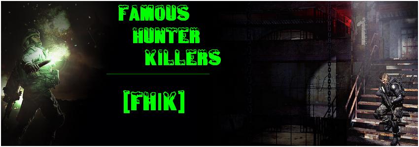 Famous Hunter Killers Index du Forum