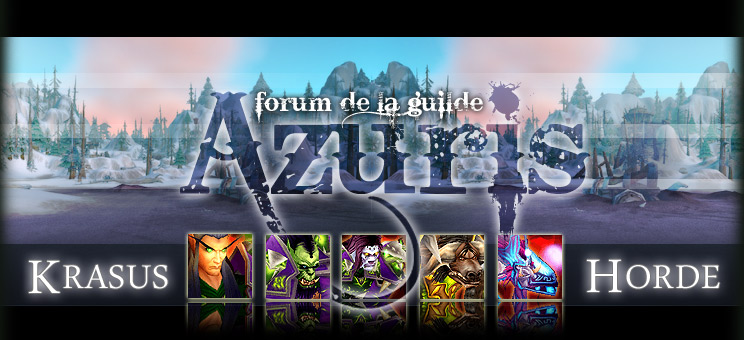 Azuris, Force et Honneur Index du Forum