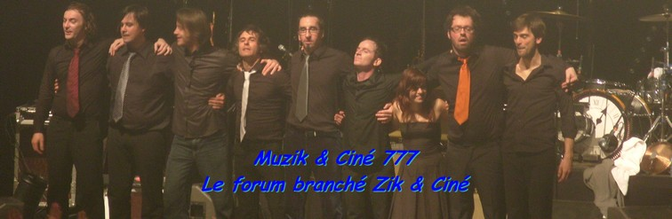 Muzik & Ciné 777 Index du Forum