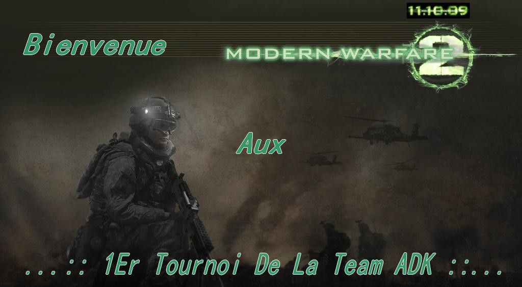 1er tournoi de la team adk Index du Forum