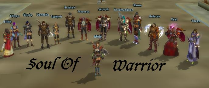 soul of  warrior Index du Forum