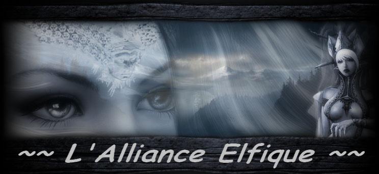 L'Alliance Elfique Index du Forum