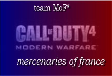 Team MoF* Index du Forum
