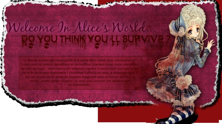 Alice Adventures in the Incredible Mirror Index du Forum